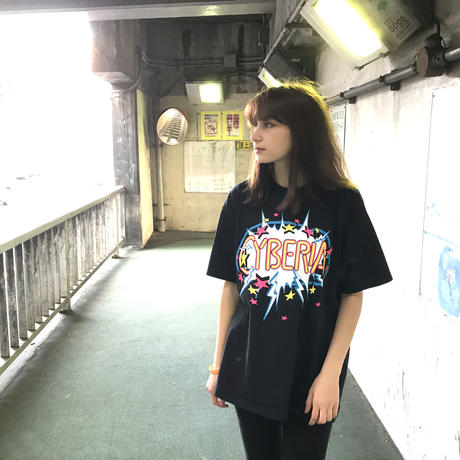 【NUMBER 3】Terratag Cyberia Tシャツ-BLACK-