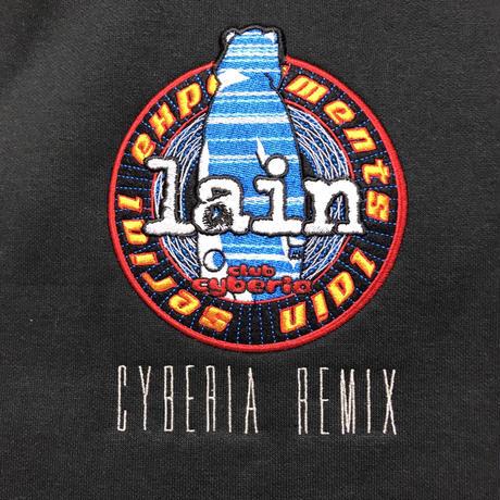 【messa store】Cyberia Bear remix プルオーバーパーカー -BLACK-