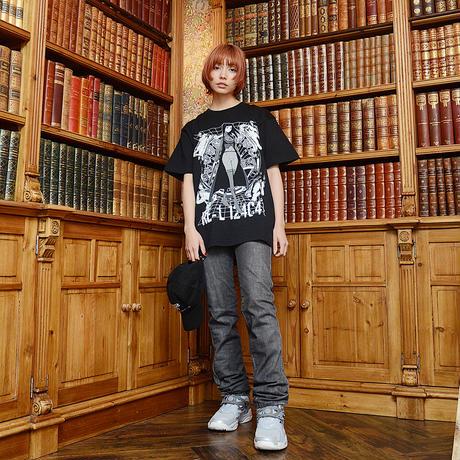 【ILYA KUVSHINOV】re-l124c41+Tシャツ BLACK