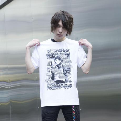 【NC帝國】Let's All Love Lain! Tシャツ-WHITE-