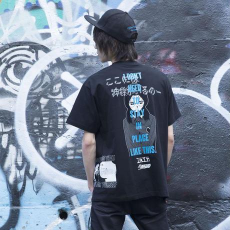 【messa store】 四方田千砂 Tシャツ-BLACK-