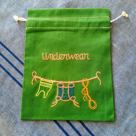 Underwear 巾着S