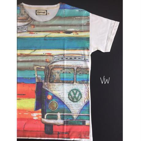 VW-BUS. メンズTシャツ