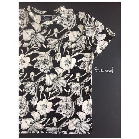 ボタニカル メンズTシャツ Botanical - C
