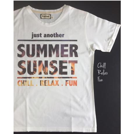 Summer Sunset! メンズTシャツ