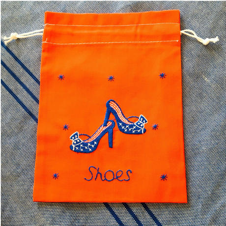 Shoes 巾着S
