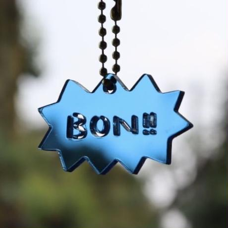 BON‼︎キーホルダー[英語・ブルー]