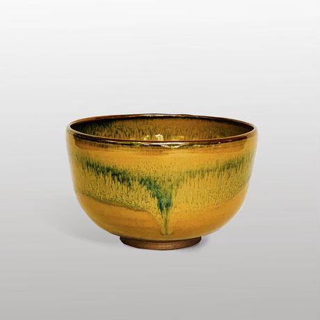 高取黄釉茶碗