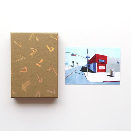 「haconiwa creators 2019」 BOX(イラストレーター 辰巳菜穂ポストカード付)
