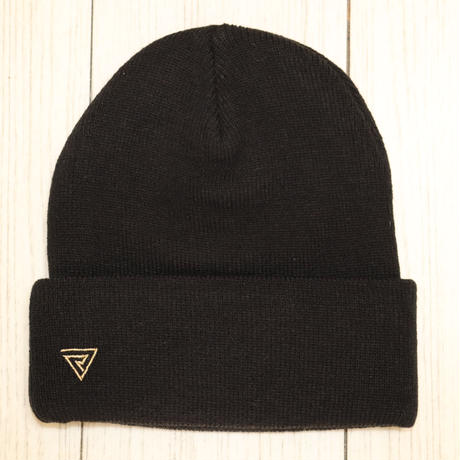 ワンポイントロゴ ニット帽
