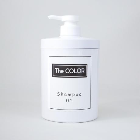 the  color オリジナルシャンプー 01    700ml