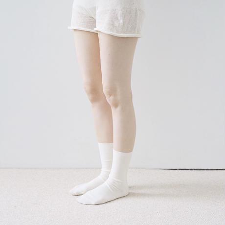 メリノウールリブソックス / Merino Wool Ribbed Socks