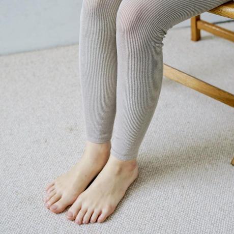 シルクリブレギンス / Silk Ribbed Leggings