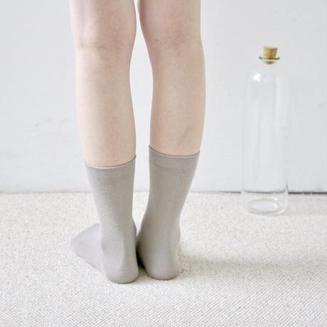 シルクコットンダブルフェイスソックス / Silk Cotton Double-faced Socks