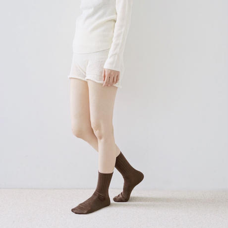 シルクスムースソックス / Smooth Silk Socks