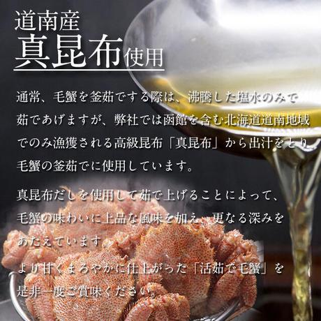 【大特価】【希少】【限定30尾】超特大毛がに約1kg(活・活茹で・冷凍)