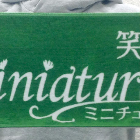 【12/14発売】箱庭の決定版マフラータオル(箱庭券1枚付)