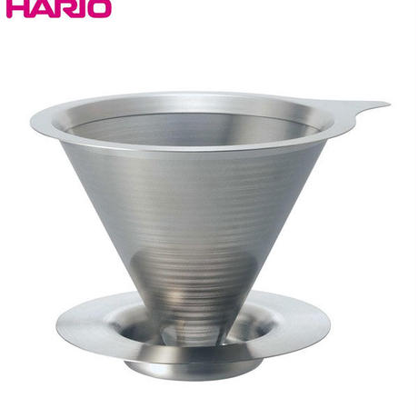 HARIO (ハリオ) ダブルメッシュメタルドリッパー 3ー4杯用