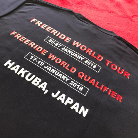 2018 freeride hakuba Official T-shirt
