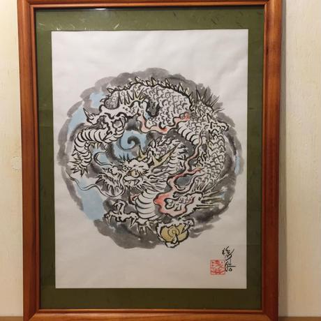 Original sumi-e picture of Dragon