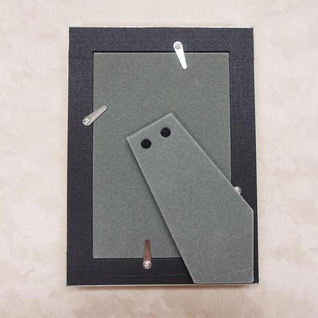 大人の写真立て #45 モナコ 緑 4×6 ポストカードサイズ