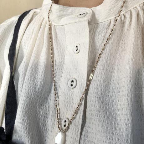 ムーンストーンのネックレス