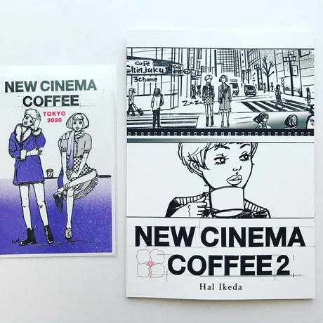 NEW CINEMA COFFEE2・ニューシネマ珈琲2 新刊漫画ZINE
