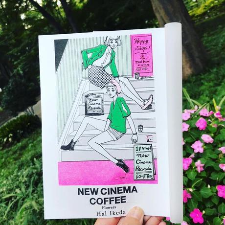 NEW CINEMA COFFEE Flowers ZINE・新刊リソグラフ・ドローイング集