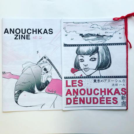 Anouchkas ZINE No.2+No.3・あぬーしゅか・ジンNo.2+No.3