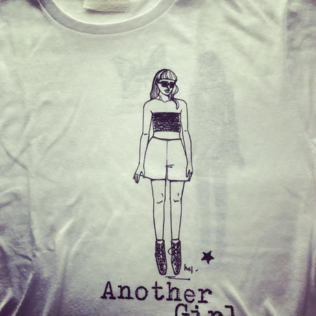 Another Girl T-shirts・イエロー(WL)