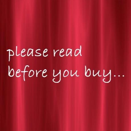 ☻☻☻ご購入前にお読みください☻☻☻