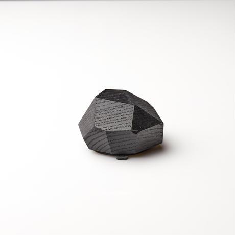 無垢材のワイヤレス充電器(ブラック)