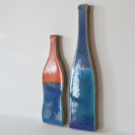 'Vessels of Time'  (bottles couple)