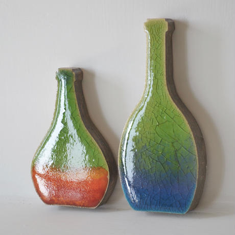 'Vessels of Time' ( bottles couple)