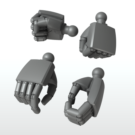 EIGHT MechHand:丸 ラージサイズ詰め合わせセット(9.5mm~13.0mm)