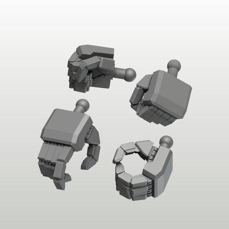 EIGHT MechHand:角 スモールサイズ詰め合わせセット(6.0mm~9.5mm)