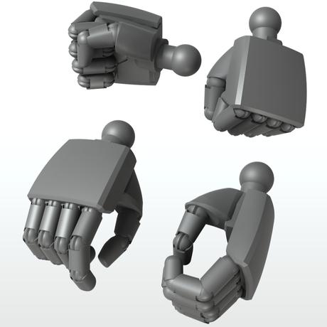 EIGHT MechHand:丸 エクストララージサイズ詰め合わせセット(13.5mm~14.5mm)