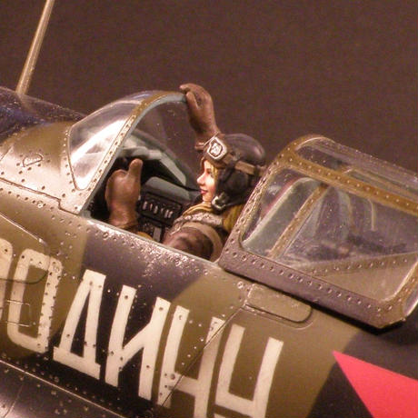 RAMPAGE 1/32&1/48 Mig-3 女性パイロットフィギュアセット