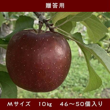 期間限定販売!りんご【レッドゴールド】『Mサイズ・46~50玉入り(贈答用)』【10㎏】《北海道壮瞥町産》