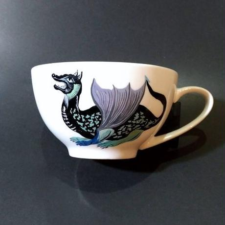 BIG COFFEE CUP「DRACO」(Black-1)