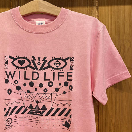 WILD LIFE グレー/ピンク/ブラウン