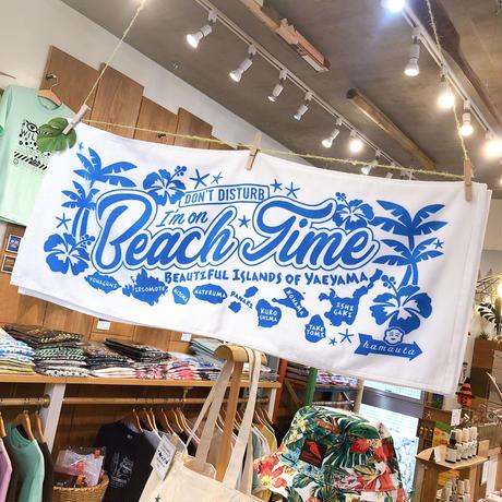 BEACH TIME フェイスタオル