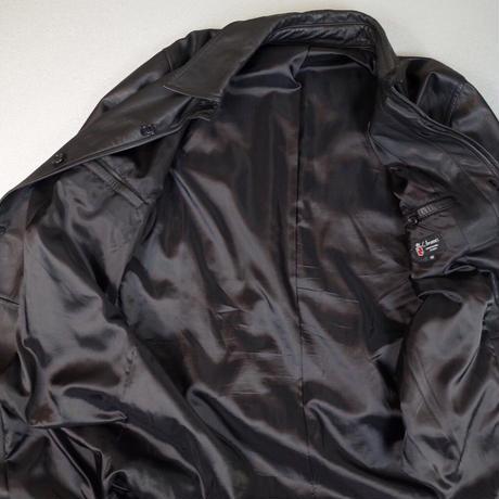 Leather Long Coat