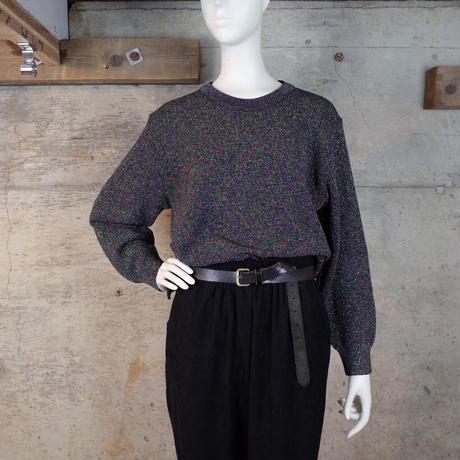 Designed Glitter Knit