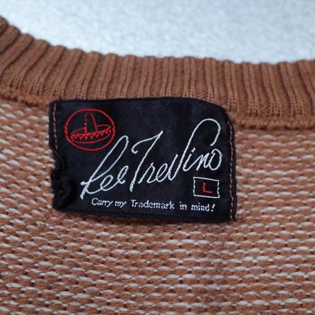 Designed Knit Vest