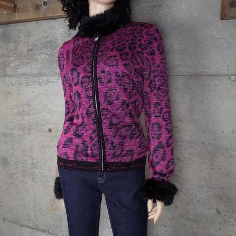 """伊太利屋"" Vintage Designed Glitter Knit"