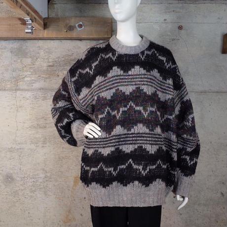 Big Size Designed Wool Knit