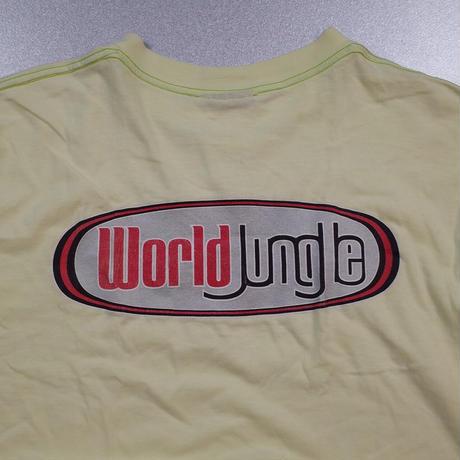 """""""World Jungle"""" Vintage Printed Tee"""