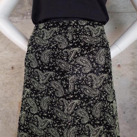 Vintage Designed Acetate Knit Skirt