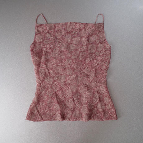 """""""GIVENCHY"""" Python Patterned Camisole & Skirt Co-ords"""